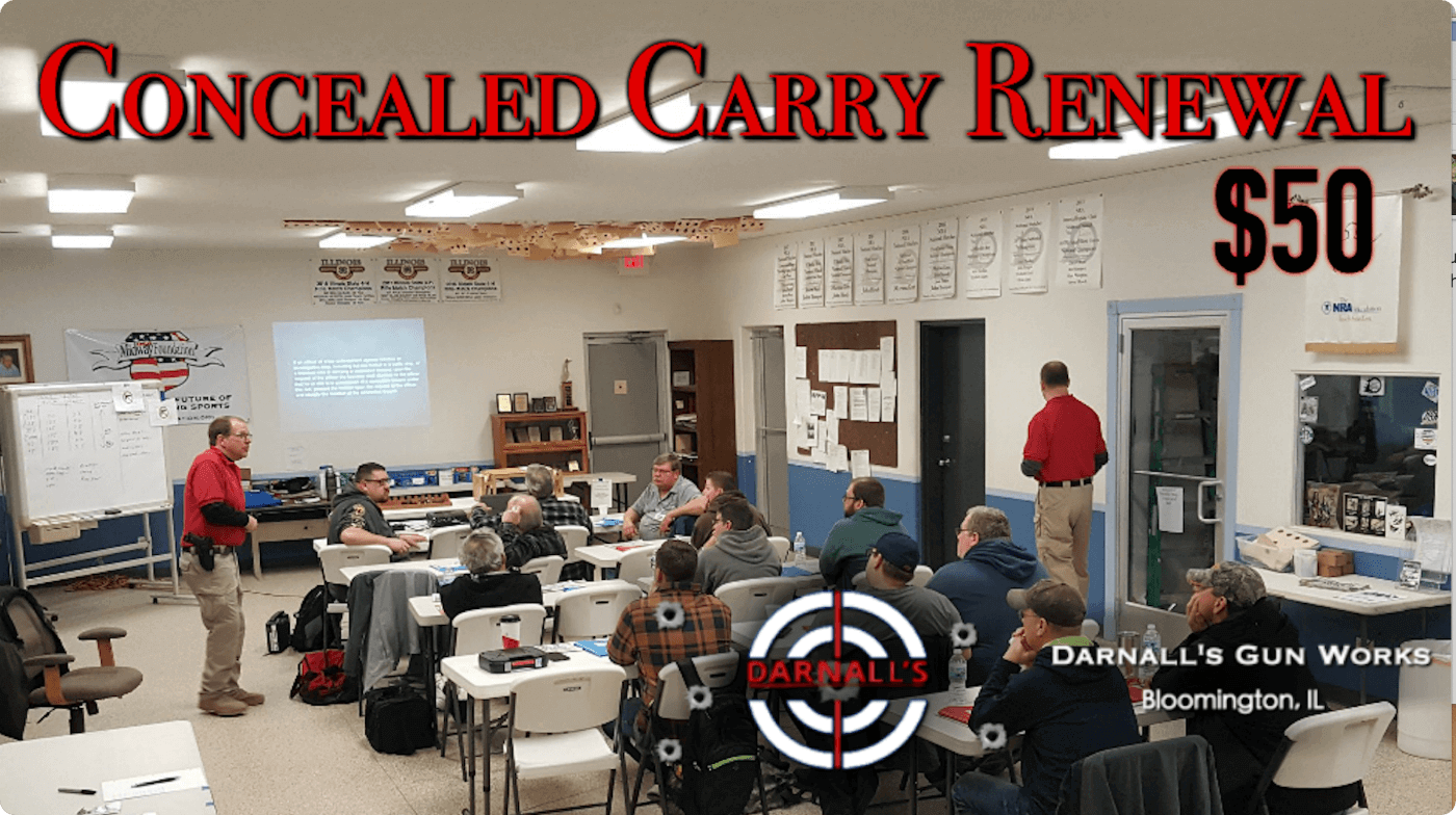 Concealed Carry Renewal Class Photo