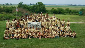 NRA Youth Kids Camp 2018 at Darnalls Gun Works and Ranges in Illinois
