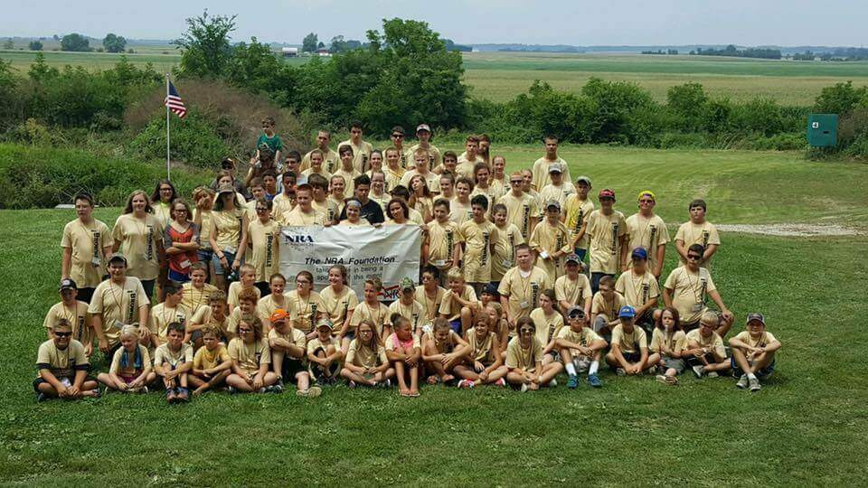 NRA Youth Kids Camp 2018 at Darnalls Gun Works and Ranges